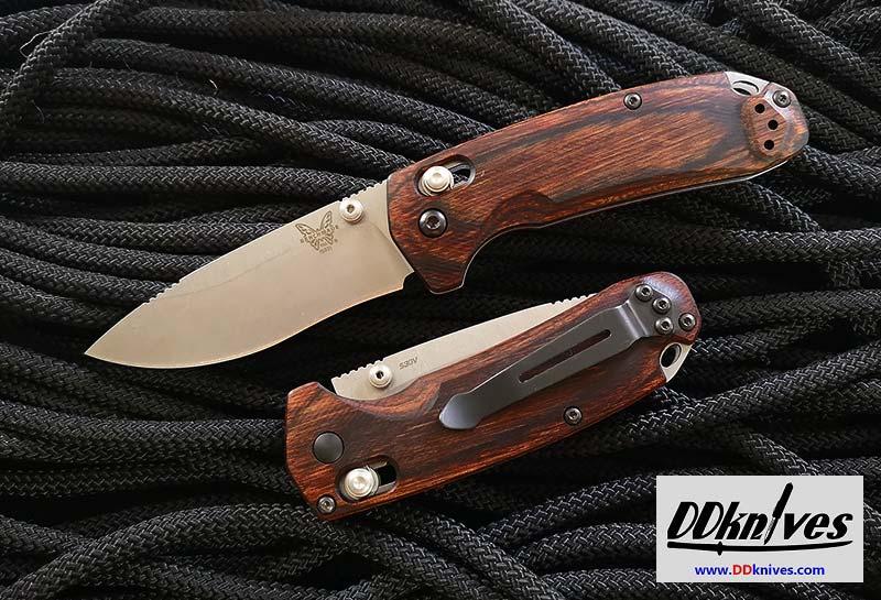 มีดพับ Benchmade Hunt North Fork, S30V Blade, Dymondwood Handles (15031-2)