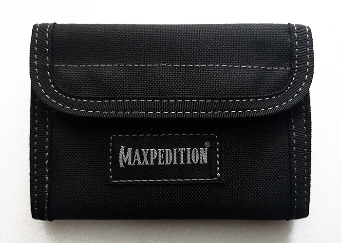 กระเป๋าสตางค์ Maxpedition Spartan Wallet, Black (0229B)