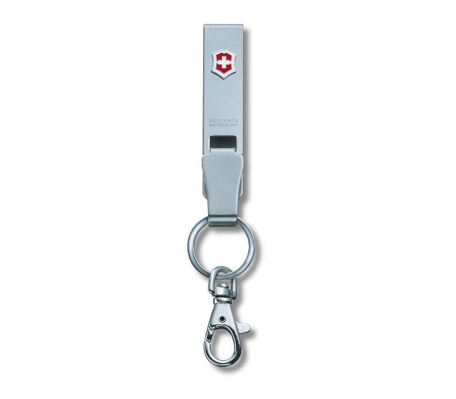 พวงกุญแจสแตนเลส Victorinox Belt Hanger Multiclip (4.1858)