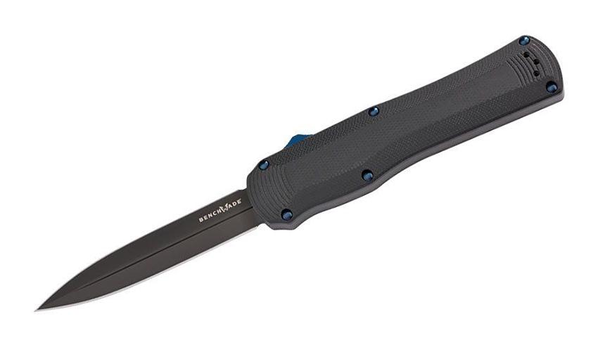 มีดออโต้ OTF Benchmade Autocrat AUTO OTF Knife Black S30V Double Edge Blade, G10 Handles (3400BK)