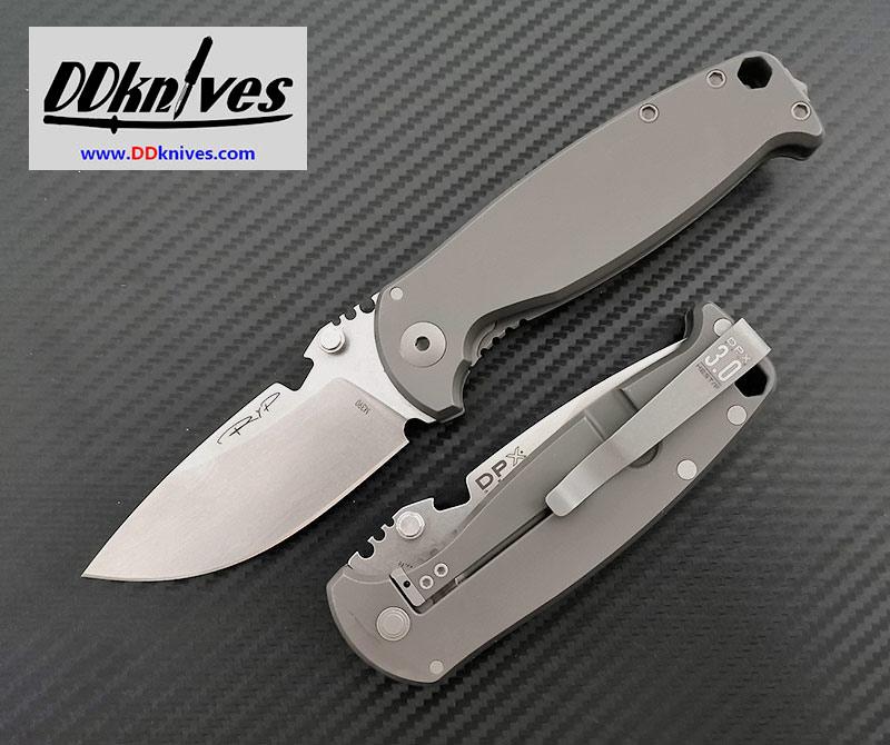 มีดพับ DPx Gear HEST/F 3.0 Ti Decade Folding Knife M390 Blade, Titanium Handles (DPHSF011)