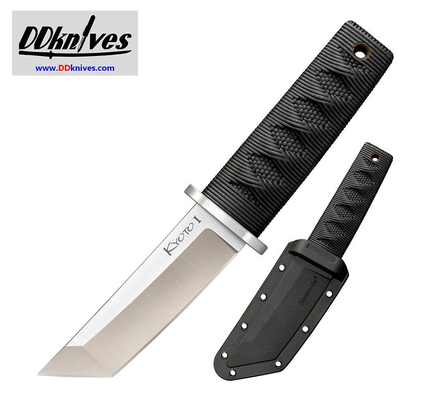 มีดใบตาย Cold Steel Kyoto I Fixed Blade Tanto Point, Kray-Ex Handle, Secure-Ex Sheath (17DA)