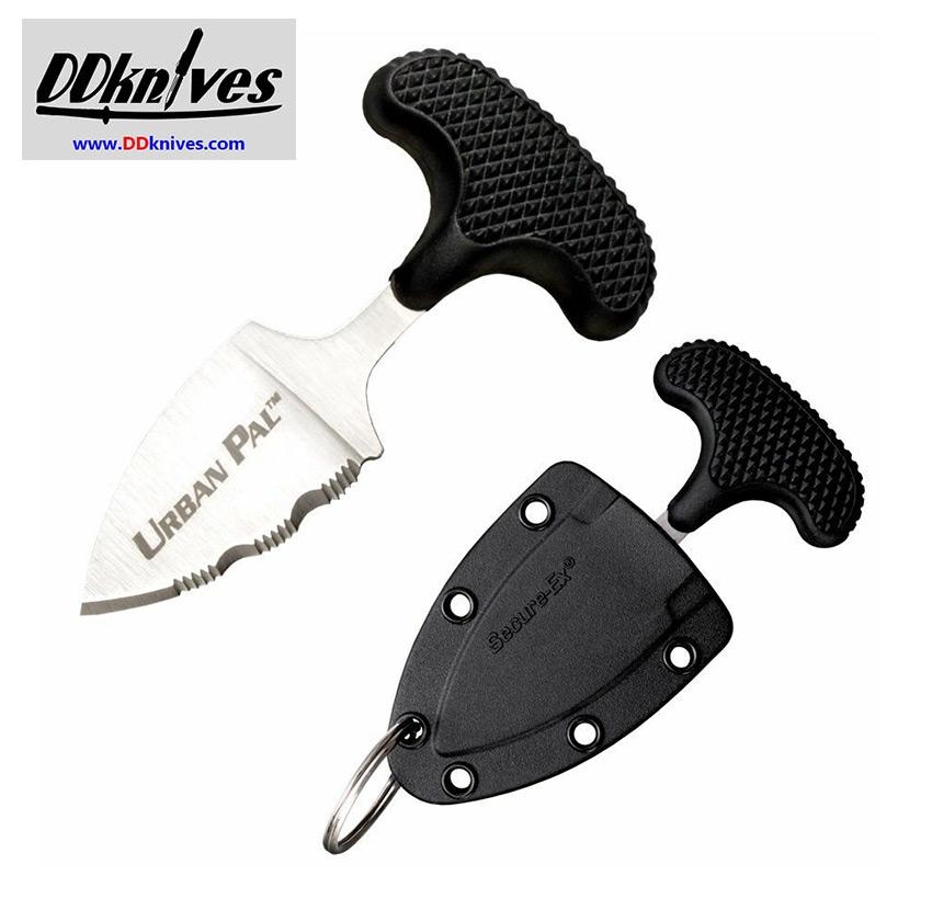 มีดชก Cold Steel Urban Pal Push Dagger Serrated Blade, Kraton Handle (43LS)