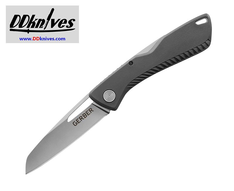 มีดพับ Gerber Shark Belly Folding Knife Satin Plain Blade, Gray GFN Handles (30-001409N)