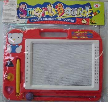 กระดานวาดเขียน smart board (สีแดง)