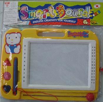 กระดานวาดเขียน smart board (สีเหลือง)