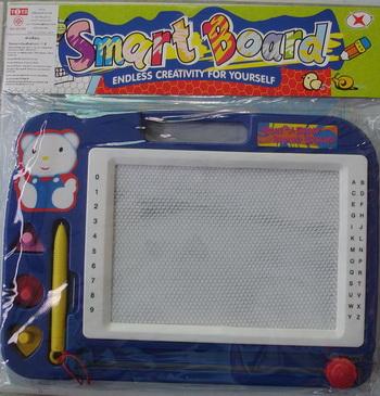 กระดานวาดเขียน smart board (สีน้ำเงิน)