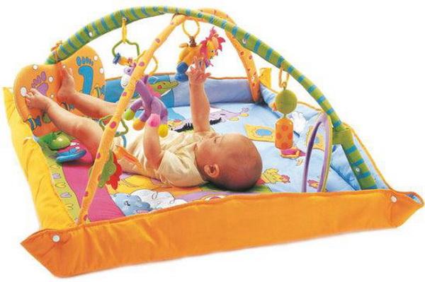 ของเล่นเด็ก เพลยิมสีฟ้า Toy Tiny love play gym เพียง 1,950 บาท