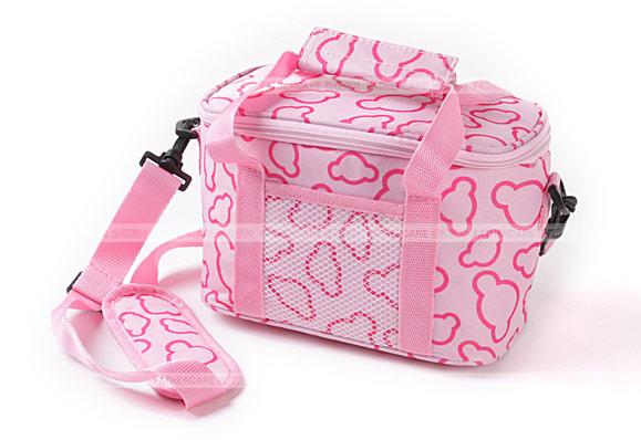กระเป๋าเก็บความเย็น ฟรี ! ถุงเจลเก็บความเย็น 2 ห่อ ใช้เก็บนมแม่ สวย น่ารัก Hit สุดๆ ทั่วโลก