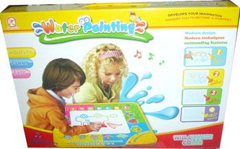 กระดานวาดเขียน + ปากกาน้ำ+เสียงดนตรี ( learning Picture Music Blanket ) 350 บาทเท่านั้น