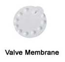 Valve membrane ( สีขาว ) อะไหล่เครื่องปั๊มนม medela ของแท้