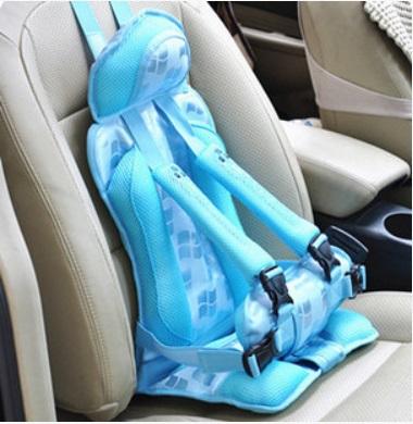 ที่นั่งเด็กในรถยนต์ (สีฟ้า) Happy baby มาตรฐานความปลอดภัยสูง ราคาโปรโมชั่น