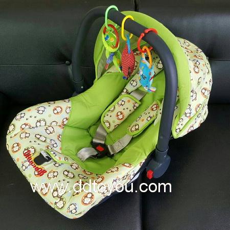 คาร์ซีท กระเช้า เบาะนิรภัยติดรถยนต์ เด็กแรกเกิด