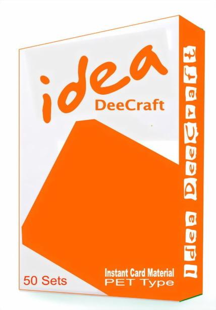 กระดาษ PET ทำบัตรพลาสติก PVC พิมพ์ Inkjet คุณภาพเยี่ยมสุดยอดในตลาด
