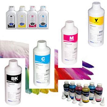 หมึก Injet Pigment Inktec กันน้ำ  สำหรับทำบัตรพีวีซี ใช้กับ Printer Epson