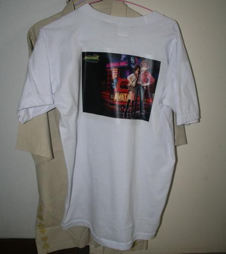 กระดาษพิมพ์เคมีพิมเสื้อ cotton สำหรับ Inkjet คุณภาพสวย ทำงานง่าย