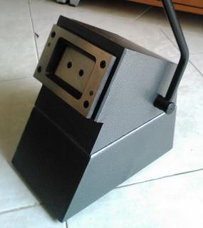 เครื่องตัดบัตรพีวีซี Card Cutter บัตรขนาดมาตรฐาน มุมโค้ง รุ่นใหญ่พิเศษ สวย โทร 0818112040