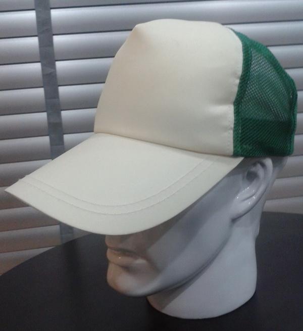 หมวกแก๊ป หน้าขาว สำหรับพิมพ์ภาพ sublimation มีหลายสี แดง น้ำเงิน เขียว เทา
