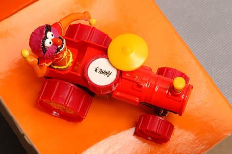 รถเหล็ก Corgi Classic Animal\'s Percussionmobile 1