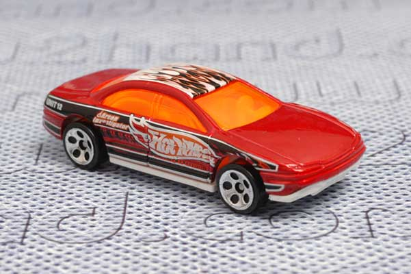 รถเหล็ก Hot Wheels -  Lexus SC400 (Aurora)