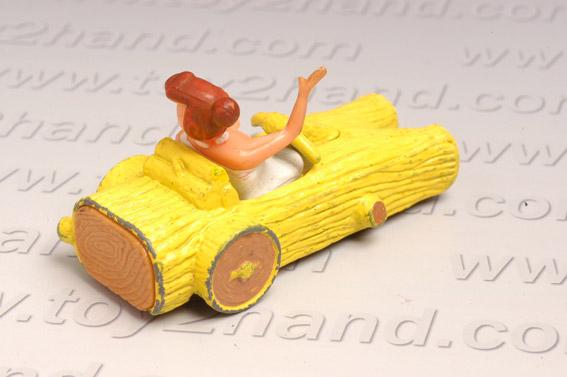 รถเหล็ก Corgi  Wilma\'s Coupe จากการ์ตูนชุด Flinstone 1