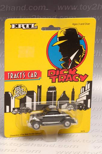 รถเหล็กของ ERTL- Tracy\'s Car