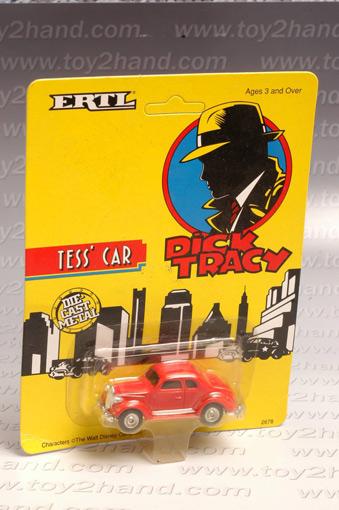 รถเหล็กของ ERTL - Tess\'s Car จากภาพยนตร์การ์ตูนเรื่อง Dick Tracy