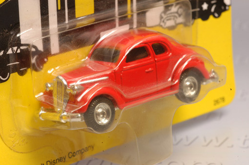 รถเหล็กของ ERTL - Tess\'s Car จากภาพยนตร์การ์ตูนเรื่อง Dick Tracy 1