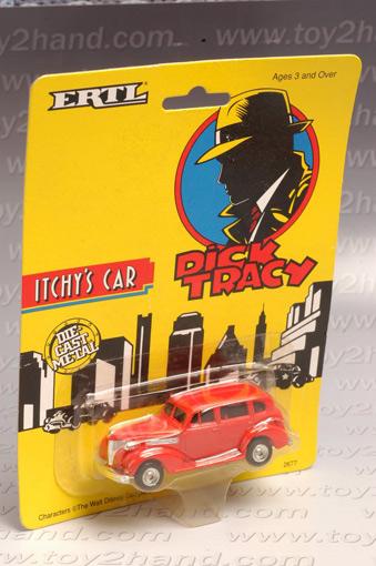 รถเหล็กของ ERTL - Itchy\'s Car จากภาพยนตร์การ์ตูนเรื่อง Dick Tracy