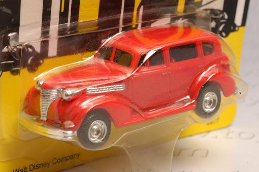 รถเหล็กของ ERTL - Itchy\'s Car จากภาพยนตร์การ์ตูนเรื่อง Dick Tracy 1