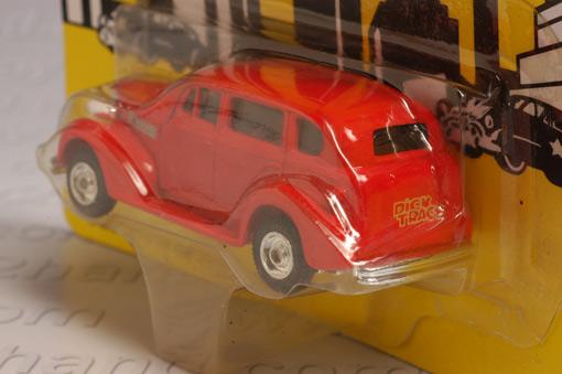 รถเหล็กของ ERTL - Itchy\'s Car จากภาพยนตร์การ์ตูนเรื่อง Dick Tracy 2