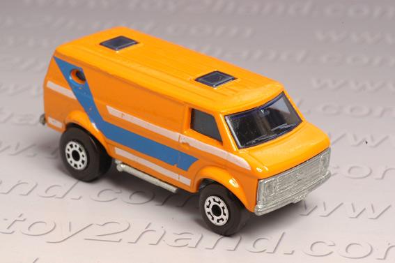 รถเหล็ก Matchbox Superfast No.68 Chevy Van