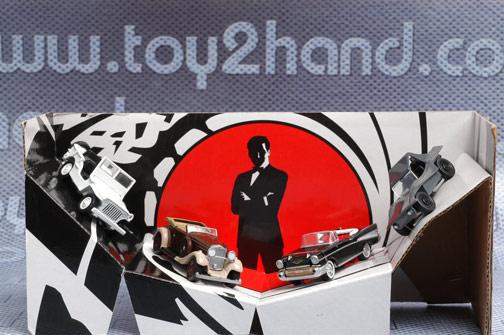 รถเหล็ก Johnny Lightning-40th Anniversary 007 Villainous Vehicles