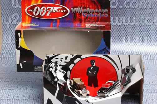 รถเหล็ก Johnny Lightning-40th Anniversary 007 Villainous Vehicles 1