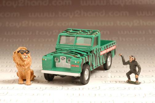 รถเหล็ก Corgi Classic No.07104 Daktari Land Rover  Figures 2