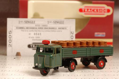 รถเหล็ก Corgi No.DG199003 Scammell Mechanical Horse Dray/Barres-Watneys