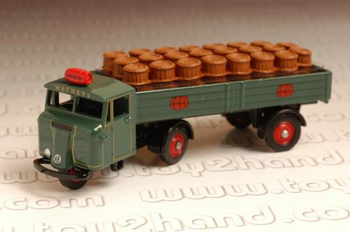 รถเหล็ก Corgi No.DG199003 Scammell Mechanical Horse Dray/Barres-Watneys 1
