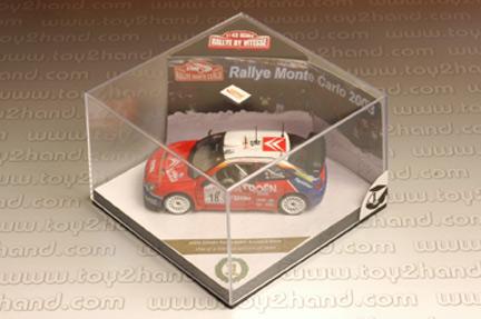 รถเหล็ก Vitesse No.43200 Citroen XSARA WRC, S. Loeb/D.Eleena, ist Monte Carlo Rally 2003 3