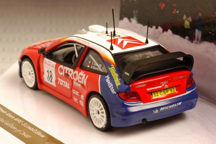 รถเหล็ก Vitesse No.43200 Citroen XSARA WRC, S. Loeb/D.Eleena, ist Monte Carlo Rally 2003 1