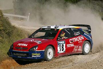 รถเหล็ก Vitesse No.43200 Citroen XSARA WRC, S. Loeb/D.Eleena, ist Monte Carlo Rally 2003 4