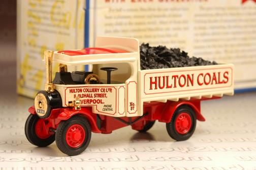 รถเหล็ก Matchbox Models of Yesteryear No. YAS02M - Foden Coal Truck