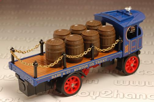 รถเหล็ก Matchbox Model of Yesteryear No.Y18 - 1918 Atkinson D Type Steam Lorry 1