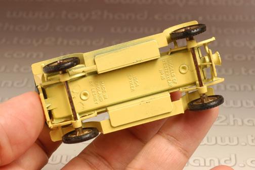 รถเหล็ก Matchbox Models of Yesteryear No.Y16A - 1904 Spyker 3