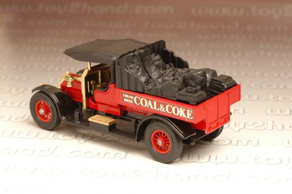 รถเหล็ก Matchbox Model of Yesteryear No.Y13C - 1918 Crossley (Coal  Coke) 1