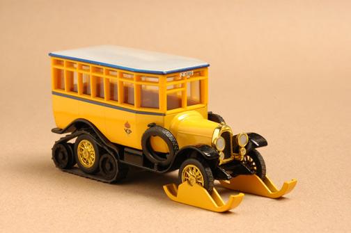 รถเหล็ก Matchbox Models of Yesteryear No.Y16D - 1923 Scania-Vabis Post Bus