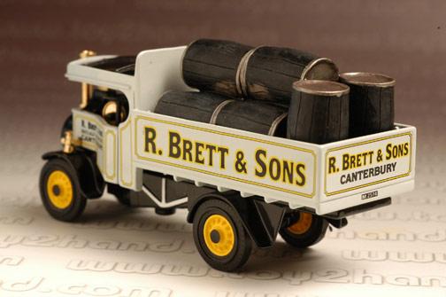 รถเหล็ก Matchbox Models of Yesteryear No.YAS12-M - 1922 Foden Steam Wagon 1