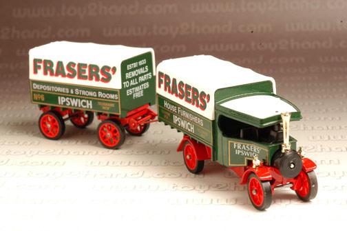 รถเหล็ก Matchbox Model of Yesteryear No.Y27B - 1922 Foden C Type Steam Wagon 1