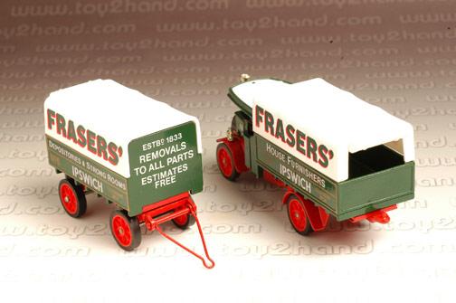รถเหล็ก Matchbox Model of Yesteryear No.Y27B - 1922 Foden C Type Steam Wagon 2