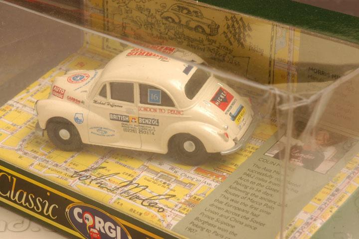 รถเหล็ก Corgi No.96742 Morris Minor (Colin Moles) 1
