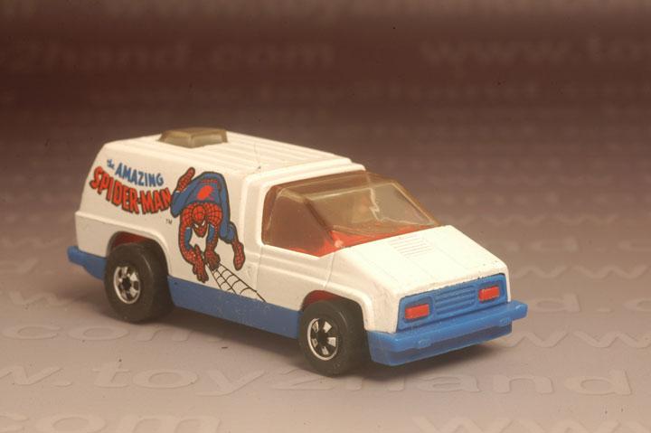 รถเหล็ก Hot Wheels No.2852 – Spiderman (Scene Machine)